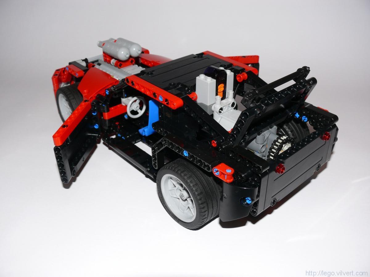42041B – Race Car – RC – Muuss Lego