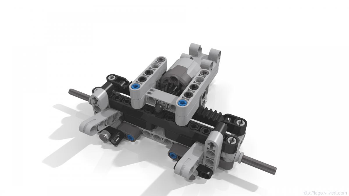 42043 B Mercedes Benz Arocs 1845 Advanced Rc Muuss Lego