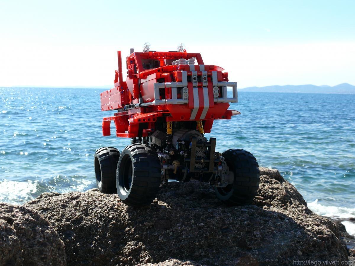 lego technic rock crawler instructions
